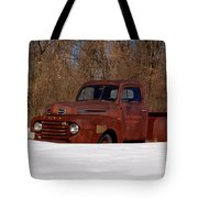 Winter Ford Truck 3 Tote Bag