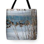 Winter Geese - 04 Tote Bag