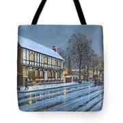 Winter Glow Parish Room Tickhill Yorkshire Tote Bag