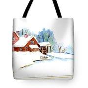 Winter Habitat Tote Bag