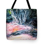 Winter Habitat No.1 Tote Bag by Trudi Doyle