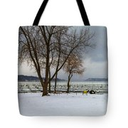 Winter Has Arrived Tote Bag