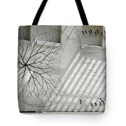 Winter Haven Abstract Tote Bag