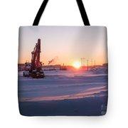 Winter Sunrise  Tote Bag