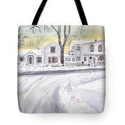 Winter Holidays In Dixboro Mi Tote Bag