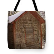 Winter Home Tote Bag