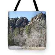 Winter In Arizona Tote Bag