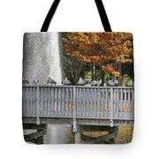 Winter In Florida Tote Bag