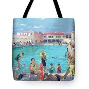 Winter In Florida Tote Bag