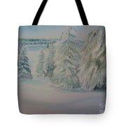 Winter In Gyllbergen Tote Bag