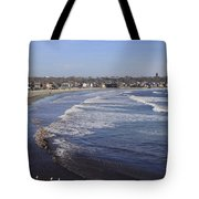 Winter In Newport Tote Bag