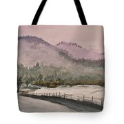 Winter In Quincy Tote Bag
