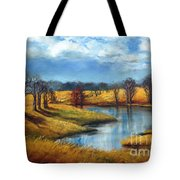 Winter In Tennessee Tote Bag