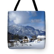 winter in the Bavarian alps 1 Tote Bag