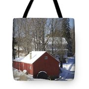 Winter In The Country Tote Bag