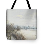 Winter In The Ouse Valley Tote Bag