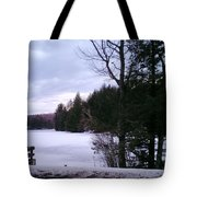 Winter In Vermont Tote Bag