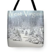 Winter In West Virginia Tote Bag by Benanne Stiens