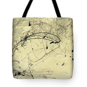 Winter Ink Tote Bag