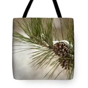 Winter Interlude Tote Bag by Evelina Kremsdorf