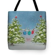 Winter Is Fun Tote Bag