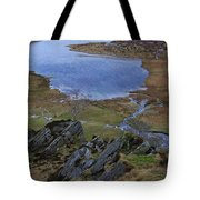 Winter Landscape Detail North Wales Tote Bag