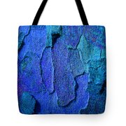 Winter London Plane Tree Abstract 4 Tote Bag
