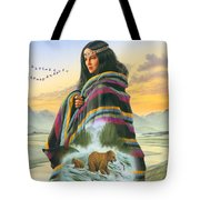Winter Maiden Tote Bag