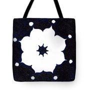 Winter Mandala Tote Bag by Beth  Cornell