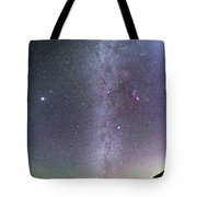 Winter Milky Way From New Mexico Tote Bag