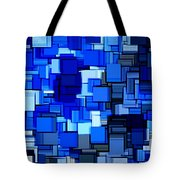 Winter Modern Abstract Xix Tote Bag