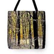 Winter Mood Lighting Tote Bag