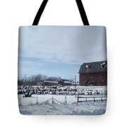 Winter Museum Tote Bag