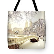 Winter - New York City - Central Park Tote Bag