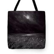 Winter Nightscape Tote Bag