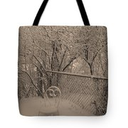 Winter Of One Tote Bag