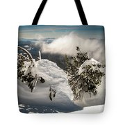 Winter On Mt. Bachelor Tote Bag