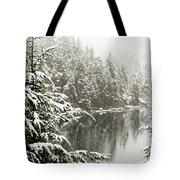 Winter On The Coast Tote Bag