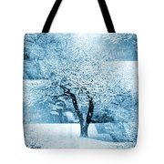 Winter Orchard Tote Bag