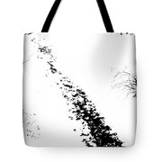 Winter Painting Vi. Ink Drawing By Nature Tote Bag by Jenny Rainbow
