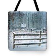 Winter Pasture Tote Bag