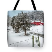 Winter Road Tote Bag by Bill Wakeley