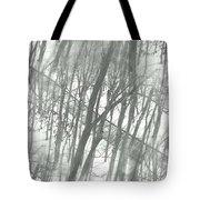 Winter Road Dream Tote Bag