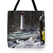 Winter Scene Michigan #1 Tote Bag