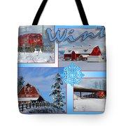 Winter Scenes  Tote Bag