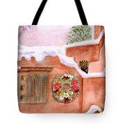 Winter Season Adobe Tote Bag