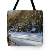 Winter Shack Tote Bag