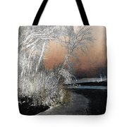 Winter Shroud Tote Bag