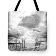 Winter Sky Drama Tote Bag