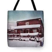 Winter Sleep Tote Bag by Priska Wettstein